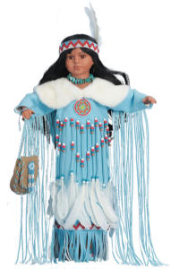 26'' Blackfeet Woman